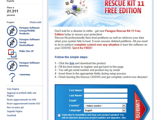 Paragon rescue kit 11 free edition